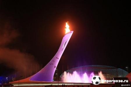 Чаша олимпийского огня 2